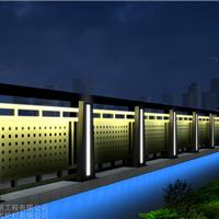 景观灯光护栏