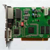 供应TS802全彩色LED显示屏发送卡