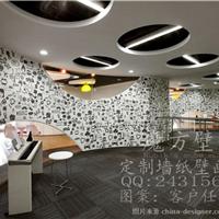 供应办公室壁画 展厅墙面壁画定制