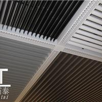 供应铝挂片 挂片铝天花 铝垂片 圆管铝天花