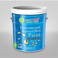 儿童专用纯天然海藻泥墙面漆大自然漆研发