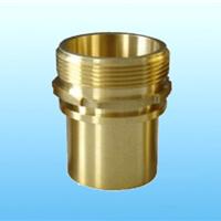 DIN2817外螺纹黄铜管尾接头槽罐车比塔铜接头