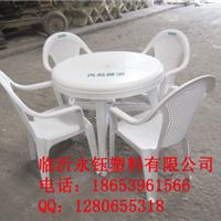 供应山西运城太原大排档塑料桌椅,塑料筐