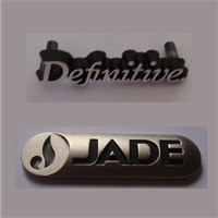 供应锌铝合金压铸标牌 金属标牌 汽车商标