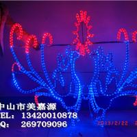 供应LED孔雀造型灯,LED动物造型号图片