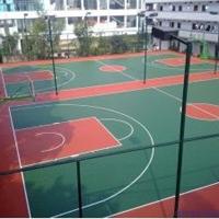 兰州篮球场材料价格 成都篮球场建造