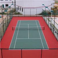 供应网球体育场绿色钢丝斜方孔围栏网