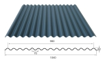 供应波形沥青防水板