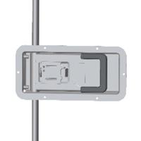 供应02342D内置门锁 后门锁 厢式货车门锁