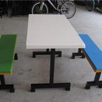 供应四人位玻璃钢餐桌椅-厂家批发