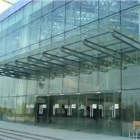 供应承接上海虹口区钢化玻璃雨棚搭建安装