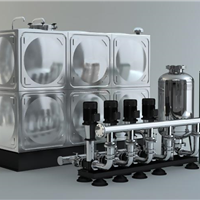 供应南京18吨消防箱泵一体化水箱