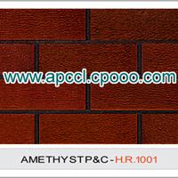 外研红 陶土砖 外墙砖 拉毛砖 毛面砖 手工砖 紫砂砖