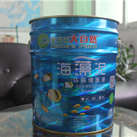 供应油漆品牌排行榜大自然海藻泥墙面乳胶漆