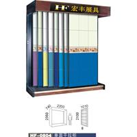 供应推拉门板瓷砖展示架,可以定制瓷砖展柜