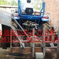 供应可开10-100CM的拖拉机路沿石开沟机