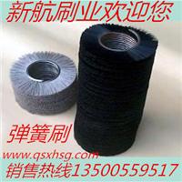 供应优质不锈钢弹簧刷 机械毛刷