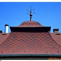 供应天信坡屋面专用多彩油毡沥青瓦