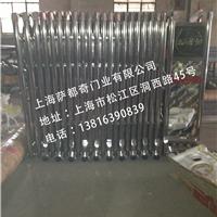 上海厂家生产电动伸缩门,表面光滑,防腐蚀