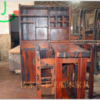 供应传家家具厂 船木酒柜 吧台 批发零售