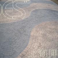 供应东莞苏州压膜(模)地坪-压膜混凝土