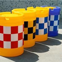 供应进口PE滚塑水马,防撞桶规格600*800