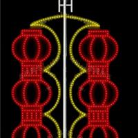 造型灯笼红红火火