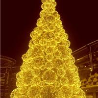 大型圣诞树圣诞球