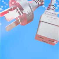 供应澳大利亚SAA电源线插头配10A/16A品字尾