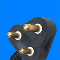 供应南非SABS认证大南非插头电源线插头