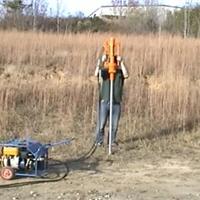 供应手持式液压柱状土壤采样钻机