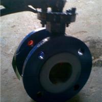 供应D41F46-16C手动衬氟法兰蝶阀