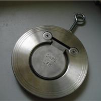 【温州厂家供应】不锈钢薄型H74对夹止回阀