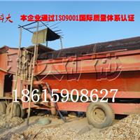 旱地沙滩淘金设备、移动淘金机械、淘金车
