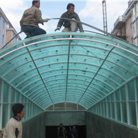 供应车棚,遮阳棚,阳光板车棚,南京雨棚