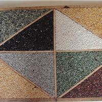 露骨料透水混凝土以及其制作生产所需材料