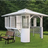 供应户外凉亭带吧台吧凳户外浴缸专用凉亭花园式