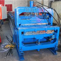 供应双层彩钢压瓦机最新设计二合一江西地段