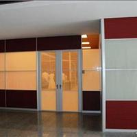 现货供应80款办公隔断、双玻带百叶隔墙型材