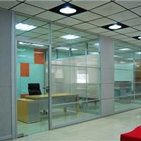 供应86款中空百叶玻璃隔断墙型材及配件