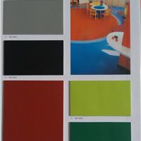 供应幼儿园专用pvc胶地板 纯色pvc塑胶地板