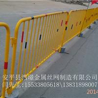 安平浩�Z市政施工临时移动铁马隔离栅栏