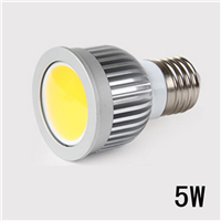 COB射灯 5W面光源 MR16 GU5.3 GU10 E27 E14
