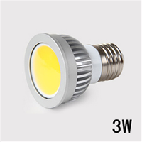 COB射灯 3W面光源 MR16 GU5.3 GU10 E27 E14