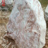 广东英石、广场石、景观石、自然石、红纹
