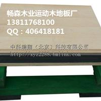 供应南京篮球场地专用防滑运动木地板 批发