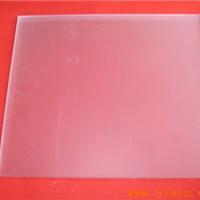 供应无手印玉砂钢化玻璃