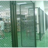供应工厂车间2.5米高斜方孔钢丝隔离网