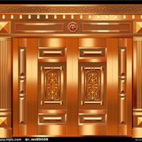 湖南伟业铜门柒牌高雅彰显贵族品味