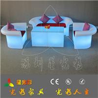 led发光沙发 优质滚塑成型 主题公园沙发